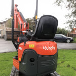 Kubota U10-3 mini-graafmachine