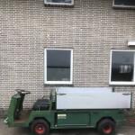 cushman transportwagen met kiepbak