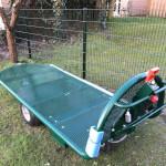 A2 electrische transportwagen hooiwagen